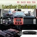 Для Toyota FJ Cruiser 2006-2017 2010 2014 кожаный Dashmat крышка приборной панели Даш коврик от солнца на заказ автомобильный Стайлинг LHD + RHD