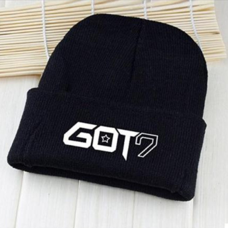 Mainlead Got7 Kpop Jackson Beanie Got7 Knitted Hat