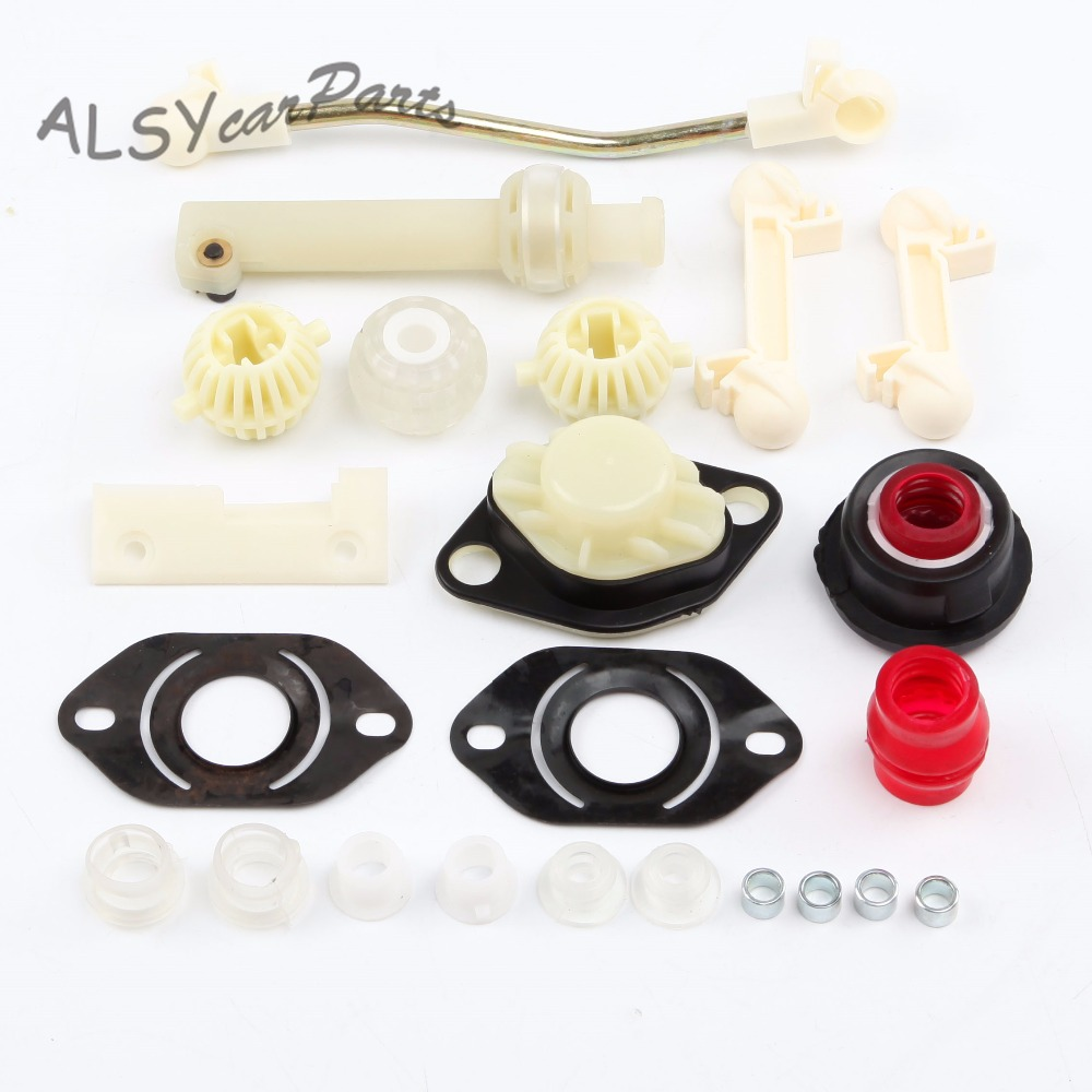 YIMIAOMO 191 798 116 A Manual Trans Transmission Shift Lever Gear Repair Kit For VW Jetta Golf Seat Toledo 1007980001 191798116A
