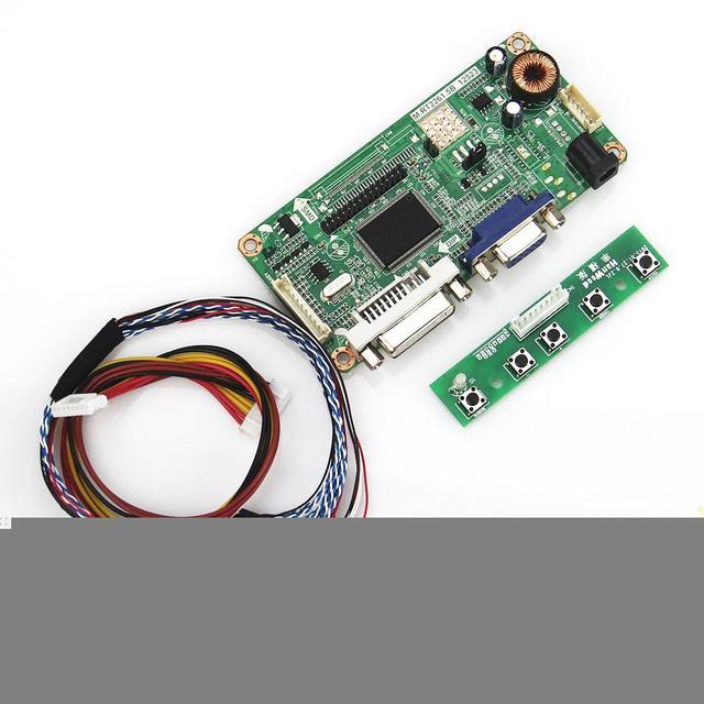 (VGA + DVI) М. R2261 М. RT2281 LCD/LED Драйвер Контроллера Совета Для PQ 3QI-01 LVDS Монитор Повторное Ноутбук 1024x600
