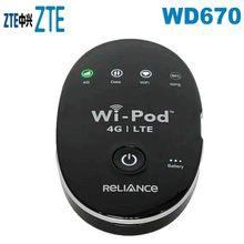 4G Tragbare Wireless WiFi Router ZTE WD670