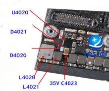 5 セット/ロットのための iphone 6 4s バックライト ic キット U4020 コイル L4020 、 L4021 ダイオード D4020 、 D4021 コンデンサ C4023