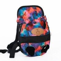 HOOPET Dog carrier fashion red color Travel dog backpack breathable pet bags shoulder pet puppy carrier 4