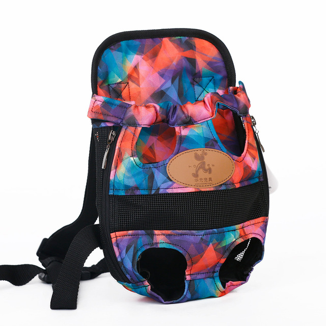 HOOPET Dog carrier fashion red color Travel dog backpack breathable pet bags shoulder pet puppy carrier 4