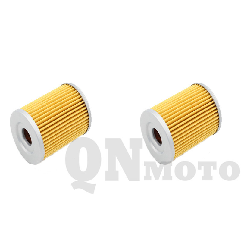 2 Pcs Motorcycle Oil Filter For LT230 E- H,J,K,L,M,N,P 1986-1993 LT230 GEF,GEG 1985-1987 LT250 EF,EFF,EFG 1985-1986