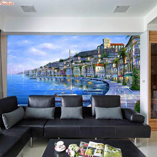 Us 220 Shinehome Menyesuaikan Foto Room Embossed 3 D Surat Wallpaper Bata Untuk Dinding 3d Kertas Dinding Ruang Tamu Non Tenunan Mural Gulungan Di