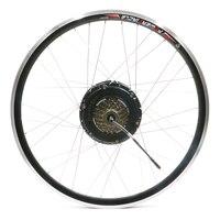 36 В 500 Вт электродвигателя Freewheel 6 7 Скорость бесплатный колеса маховик Ebike Conversion Kit MTB BMX Запчасти велосипед аксессуары