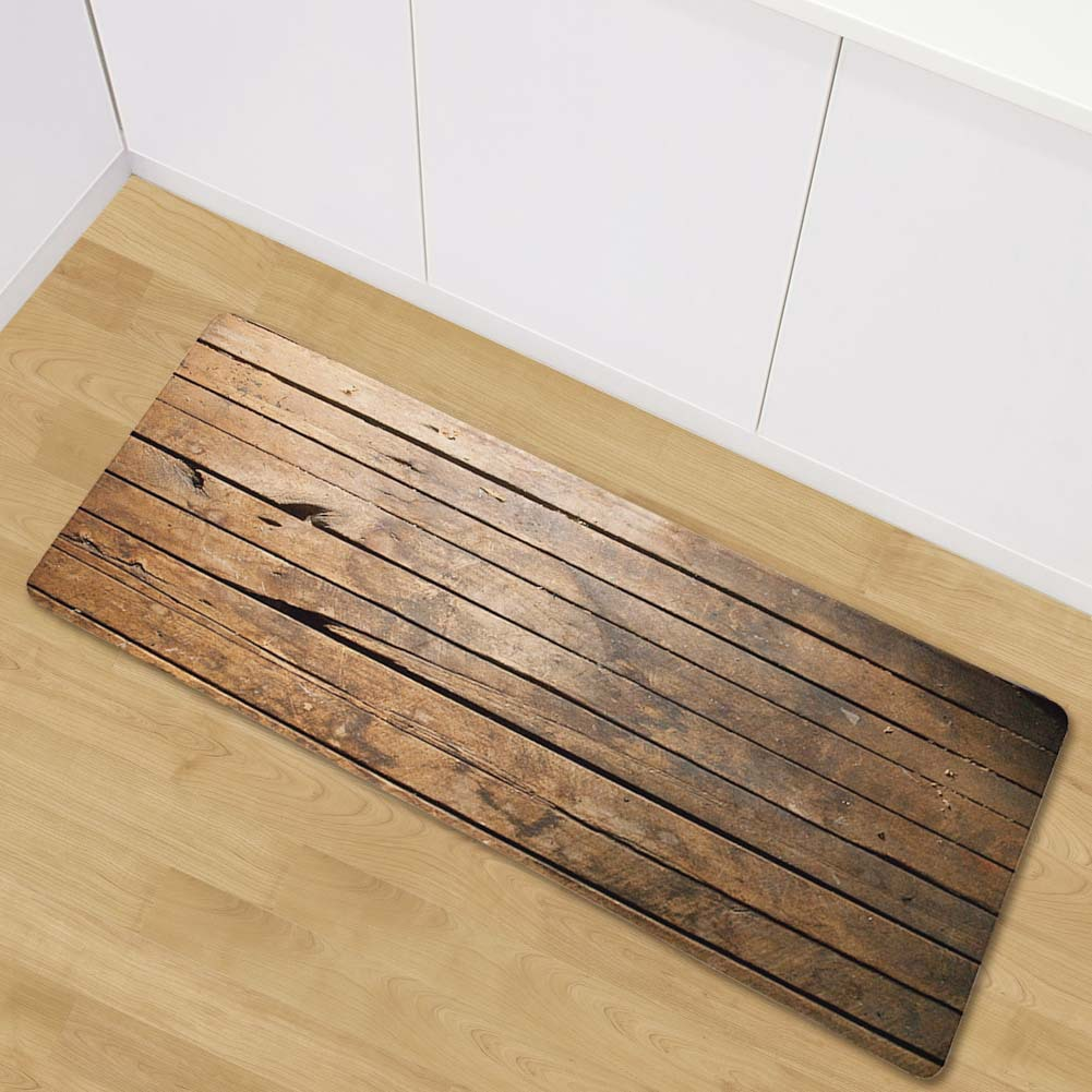 Wood Painting Carpets For Living Room Bedroom Rug Bedside Mats Anti-slip Carpets For Children Floor Mats Kitchen Rugs