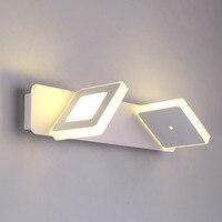 Mirror front light makeup LED wall lamp modern minimalist Dresser Mirror lamp bathroom Cafe light ZH FG26