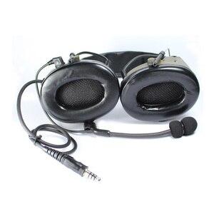 Image 5 - חיצוני ציד טקטי אוזניות III Airsoft פיינטבול Comtac אוזניות פעיל רעש ביטול צבאי אוזניות