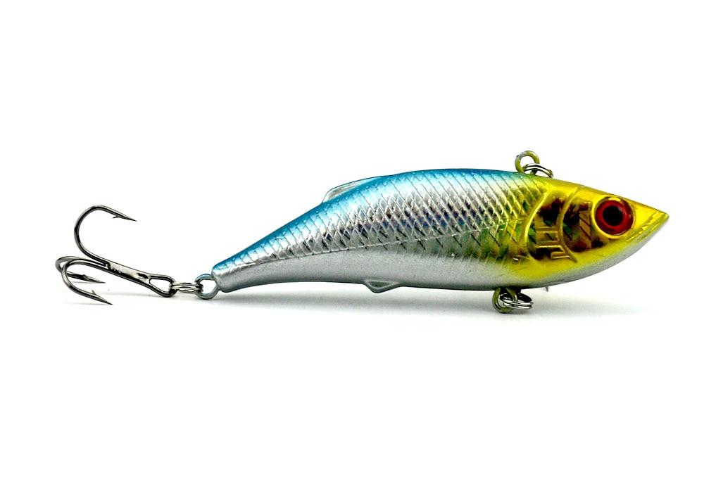 6 copë 8cm-11.8g Peshkim i fortë plastike VIB Lures Tingëllim - Peshkimi - Foto 5