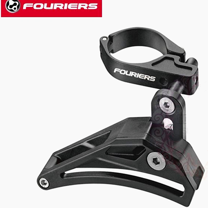 Fouriers CT-FD002 Seattube bike bicycle Clamp Chain Guide For 1*System Aseemble on Front Derailluer Guard Retension 34.9mm Con 1pcs seattube bike bicycle clamp chain guide 30 40t for 1 system aseemble suitable for 1x9 1x10 1x11 system speed drive train