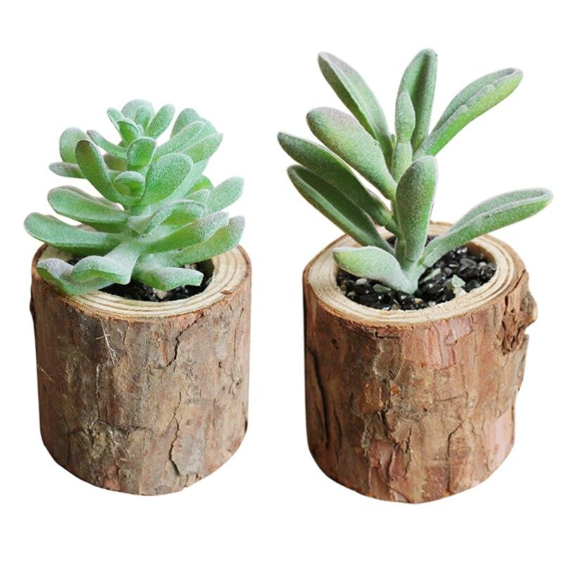 Artificial Flowers Lotus Plants Succulent + vase Grass Desert Artificial Plants Landscape Arrangement Garden Decor