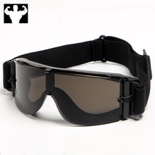 Universal retro motorcycle goggles pilot scooter helmet pit impact for skiing outdoor sports