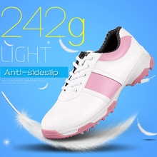 Brand PGM Adult Womens Ladies Girls Women Golf Sports Shoes Light & Steady & Waterproof & Anti-sideslip Technology XZ059/62