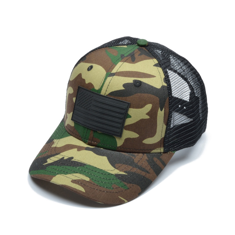 Baseball Cap Men s Summer Hat Cap Army Men s Camouflage Mesh Camo ... 2a179369cfa