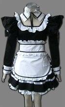 Demonio negro de Algodón de Halloween Maid Cosplay Costume