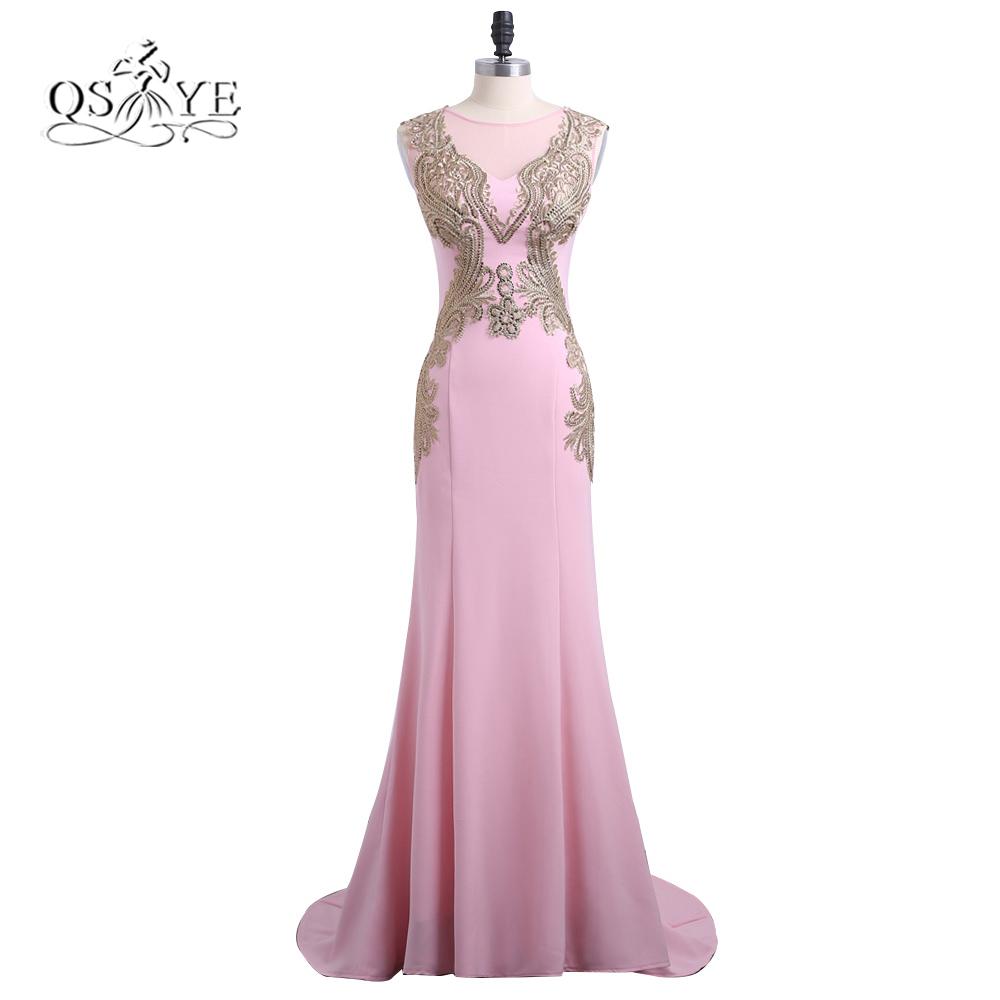 Online Get Cheap Rosa Backless De La Sirena Vestido De Fiesta ...