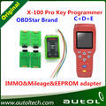OBDSTAR X-100 PRO X100 Pro Auto Key Programmer C+D+E Type for IMMO&ODOMETER and OBD Software Function With EEPROM Adapter