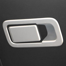 Car Covers ABS matte inner door handle circle chrome sequins cover stickers For Kia Sportage 2016 Car Accessories Decoration