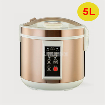 5L Full Automatic Black Garlic Fermenter Household DIY Zymolysis Pot Maker Black Garlic Fermenting Machine With Drying Function