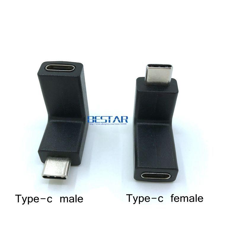 Nuevo diseño de codo 10Gbps 90 grados con ángulo recto USB-C USB - Cables de computadora y conectores - foto 2