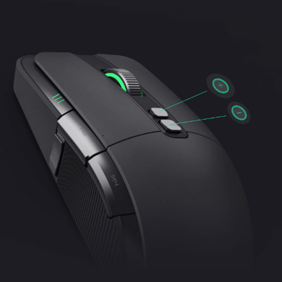 Image 2 - Original Xiaomi Game Mouse Portable Usb/Wireless 2.4GHz Dual Mode 7200Dpi 6 Button RGB Led Gaming Mouse MacOS Windows Gamer Mice-in Mice from Computer & Office