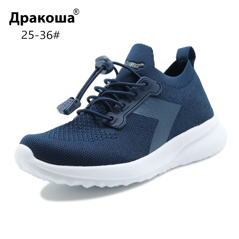 Apakowa Toddler Boys And Girls Breathable Sports Shoes Unisex Little Kids Gym Lightweight Sneakers For Outdoor Running Football