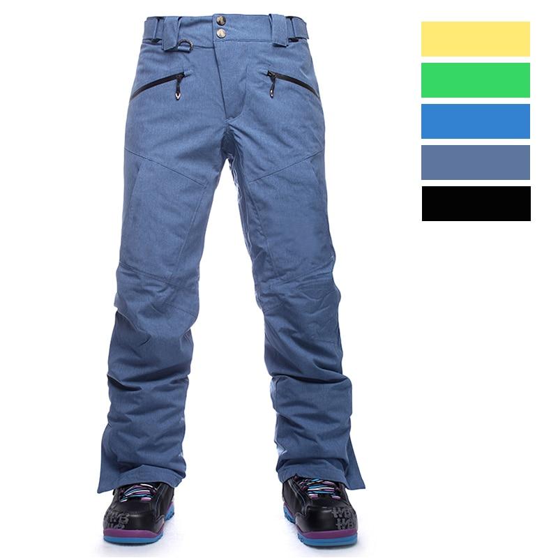 SAENSHING Brand Snowboard Pants Men Outdoor Winter Snow Ski Pants Snowboarding Trousers High Quality Size S-XL Professional