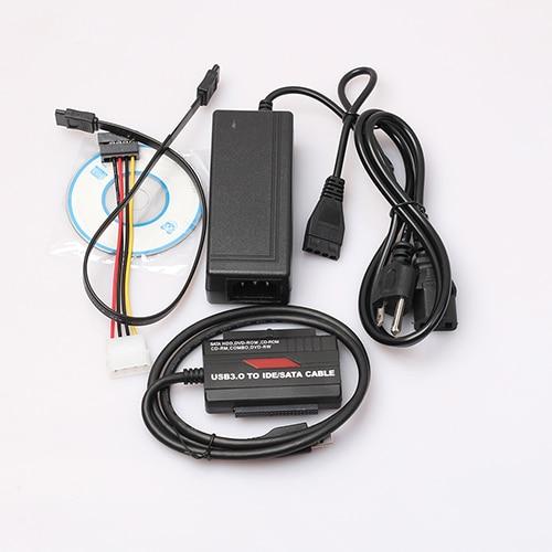 USB 3.0 2.0 to 2.5 3.5 SATA IDE HD HDD Adapter Converter Cable for 2TB ATA ATAPI