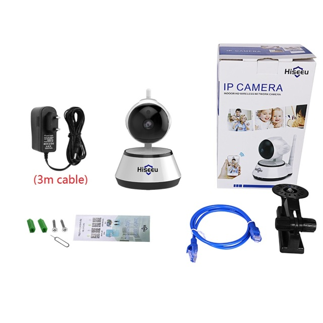 Home Security IP Camera Wireless Smart WiFi Camera WI-FI Audio Record Surveillance Baby Monitor HD Mini CCTV Camera Hiseeu 1080P 5