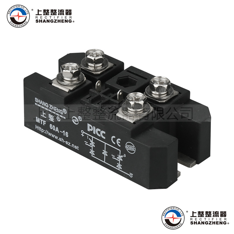 Single phase bridge control half bridge rectifier module MTF 60A, brand new original japan niec indah pt150s16a 150a 1200 1600v three phase rectifier module