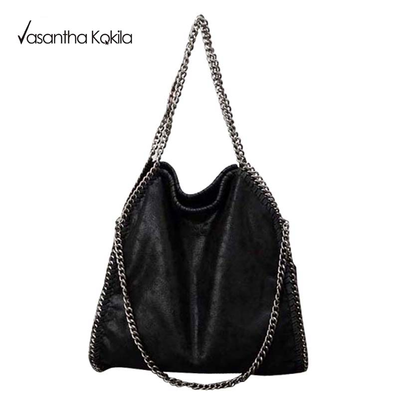 Women Crossbody Bags Falabellas leather Shoulder Bag stella 3 silver chains Bolso Socialite Tote Fashion Sac