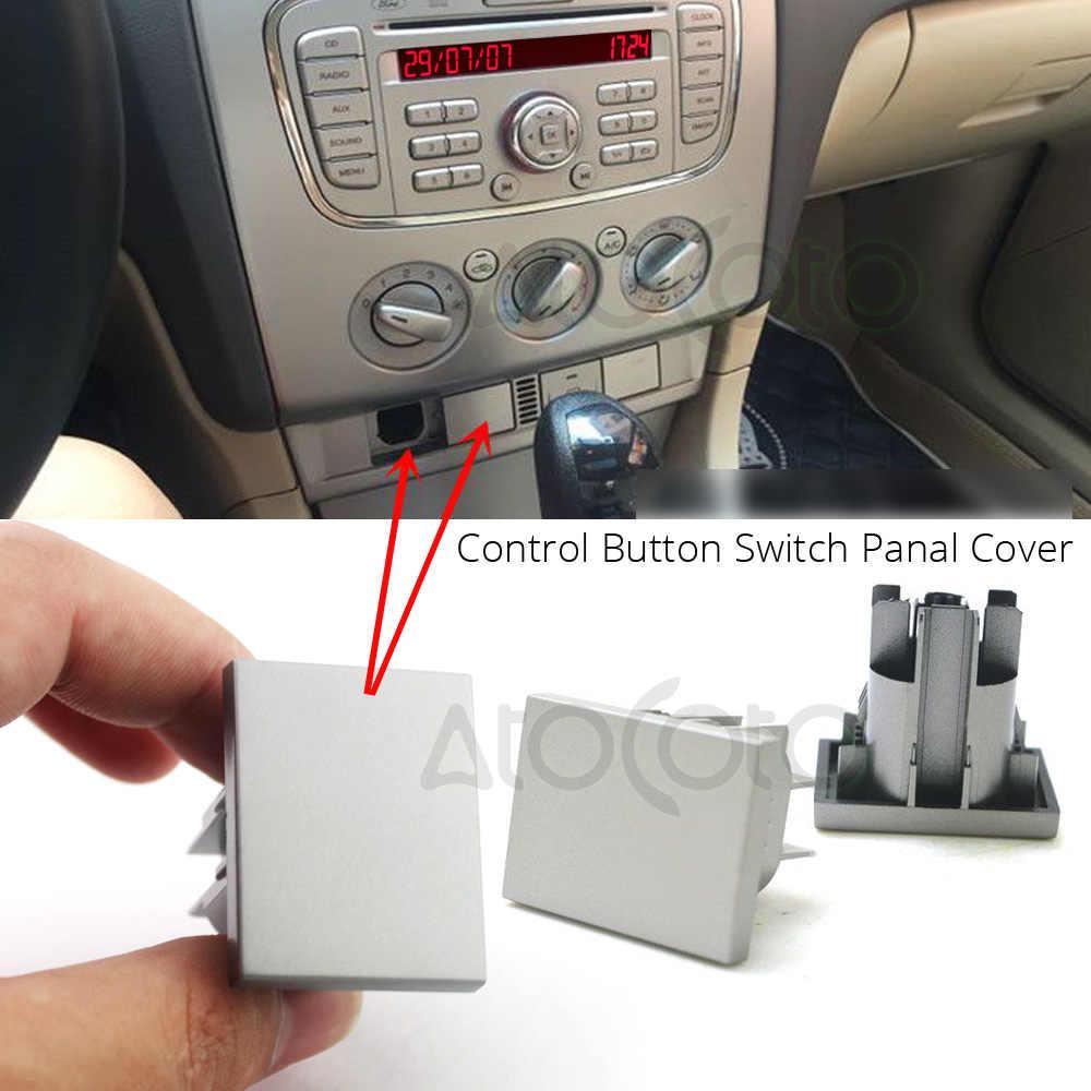 AtoCoto Автомобильный USB слот интерфейсы мини кабель адаптер подключения для Ford Focus MK2 CD DVD AUX кнопка управления переключатель панель Крышка