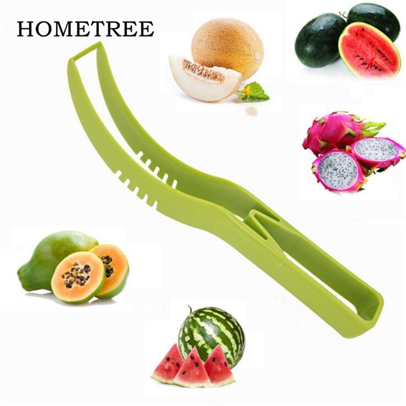 HOMETREE Watermelon Knife Cutter Slicer Cut Fruit Tool Corer Server Scoop Cantaloupe Kitchen Health Materials Cutting Seeder H11