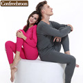 High Quality Pure Cotton Men's And Women's Thermal Underwear Sets Male And Female Soft Thin Warm Long Johns In Autumn And Winter