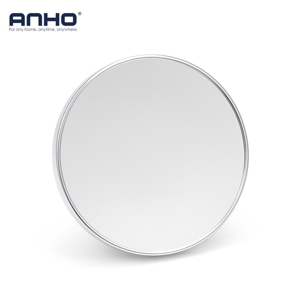 Specchio Ingranditore Da Bagno.Anho Specchio Per Il Trucco Girevole Da Bagno 3x Specchio Ingranditore Ventosa Rotativo Specchio Di Bellezza Doppio Sided Da Bagno Specchio Specchio