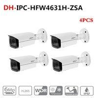 Ahua 6MP IP камера IPC-HFW4631H-ZSA Обновление от IPC-HFW4431R-Z 4 шт./лот со встроенным микрофоном слот для карты SD PoE 6MP