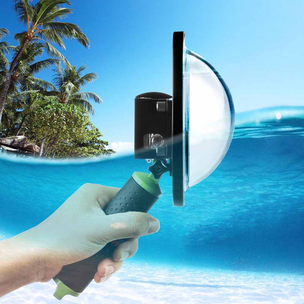 SHOOT 6 inch Diving Dome Port for GoPro Hero 4 3+ Black Silver Go Pro Camera with Waterproof Case Dome for GoPro 3+ 4 Accessory цена и фото