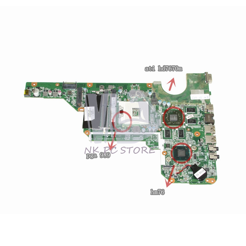 680569-001 DA0R33MB6F0 For Hp Pavilion G4 G4-2000 G6 G6-2000 G7 G7-2000 Notebook Motherboard HM76 ATI HD7600m DDR3 ce rohs ms 50 24v ac dc mini size single output switching power supply from chines supplier