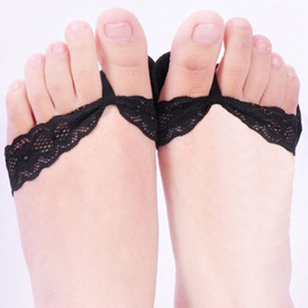 1 pair invisible Thick anti-pain super soft insole forefoot pad high heel shoe pad insoles slip-resistant foot shoes Patch