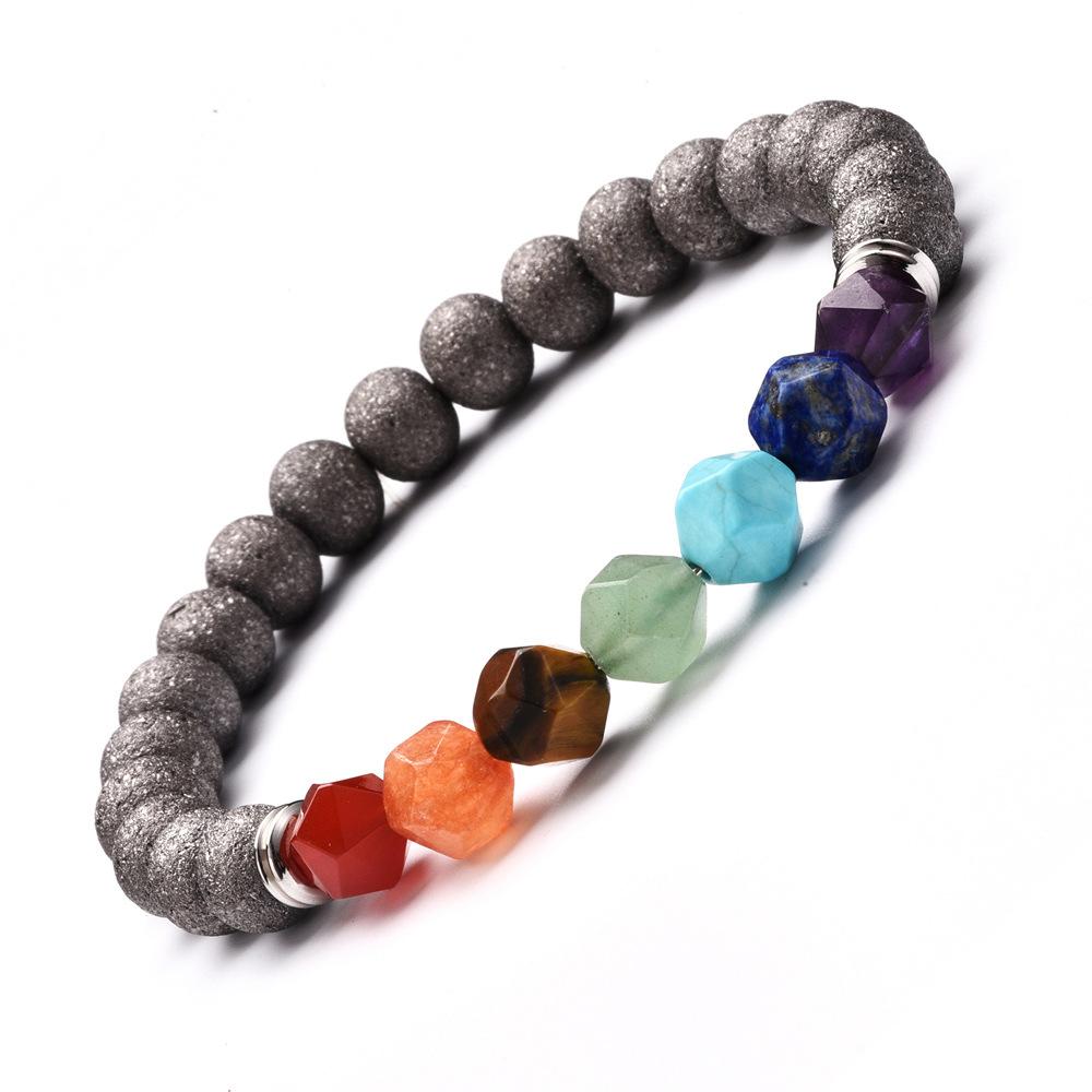 7 Chakra Armband Bunte Metall Wirkung Stein Healing Balance Perlen Reiki Buddha Gebet Natürliche Stein Yoga Armband Schmuck Strand Bracelets Aliexpress