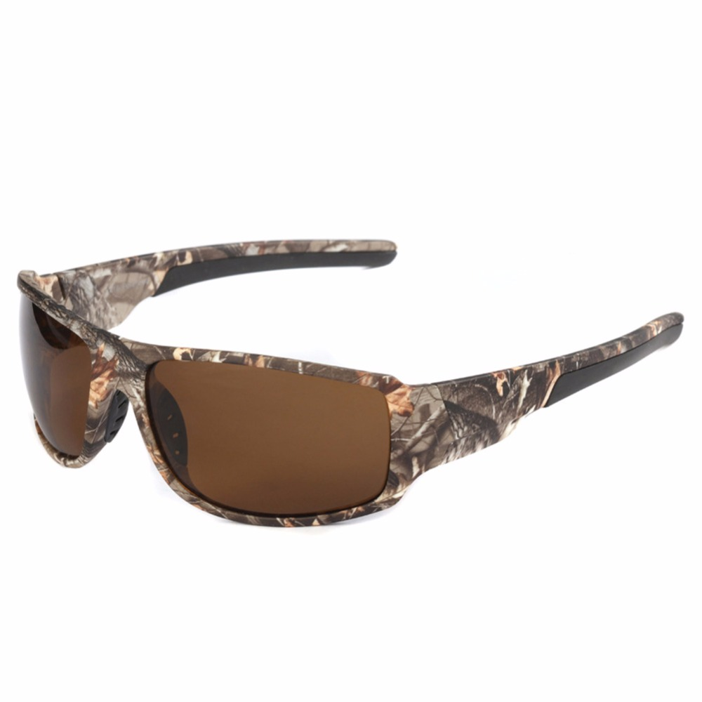 Mounchain спортивные солнцезащитные очки для рыбалки на открытом воздухе с камуфляжной оправой Polaroid UV400 очки для мужчин для рыбалки, охоты, ката...
