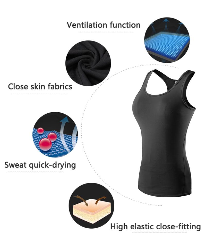 Women's Yoga Tops Sexy Gym Sportswear 21