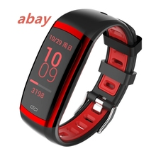 Abay CD09 Moda Esportes Freqüência Cardíaca Pressão Arterial Teste de Oximetria de Homens e Mulheres Pulseira de Monitoramento À Distância Suporte IOS Android