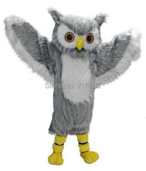 cosplay costumes Owl Mascot Costume adult Owl Mascot Costume free shipping