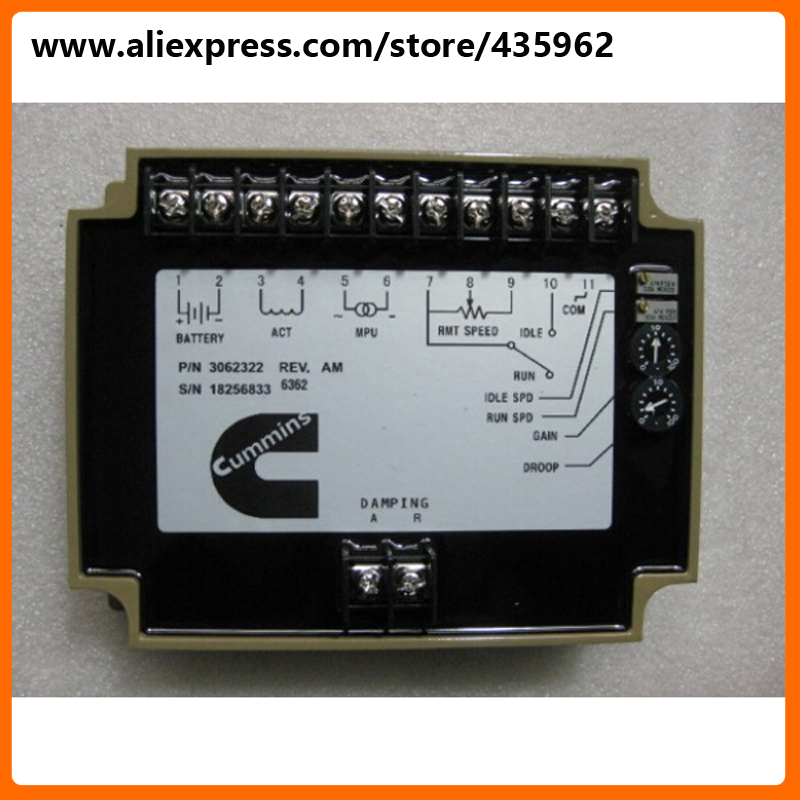 3062322 electronic governor speed control unit for generator part high quality gcu 20 generator control unit solid thai also means kutai generator control unit