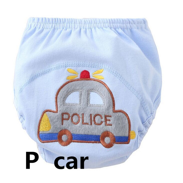 5Pcs/lot  Baby boy Training Pants/Child Cloth Study Pants/Reusable Nappy Cover/Washable Diapers size 100 suit 12-16kg 1