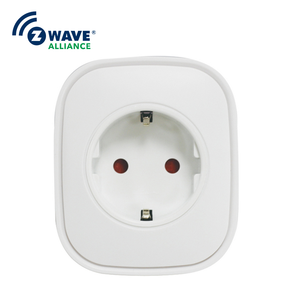 Wall Socket Home Security Alexa Compatible Surge Protection Zigbee Home Automation Solution Smart Metering Plug