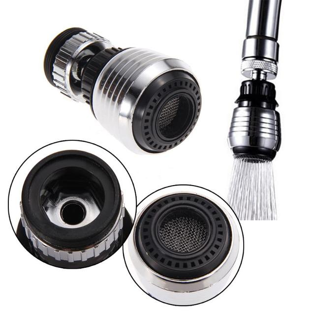 360 Degree Rotatable Water Saving Tap Ae for Kitchen Faucet Aerator  Diffuser Faucet Nozzle Filter Adapter Water Bubbler